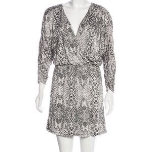 Parker Printed Mini Dress S